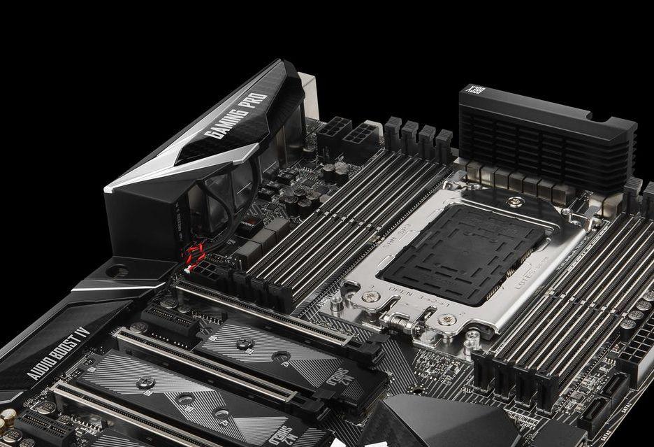 AMD Ryzen Threadripper - jak zamontować procesor w podstawce TR4?