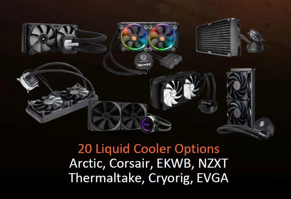 AMD Ryzen Threadripper - lista kompatybilnych chłodzeń