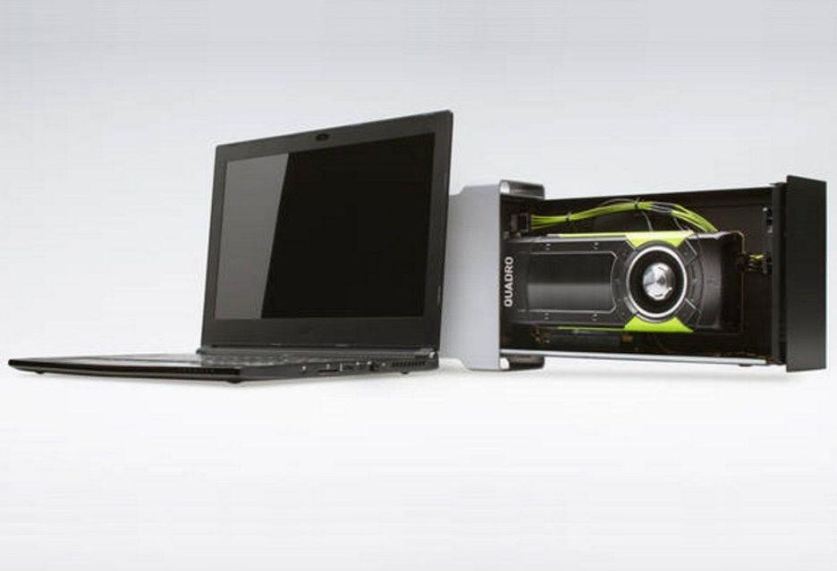 Nvidia przygotowuje zewnętrzne stacje graficzne z Titan Xp i Quadro