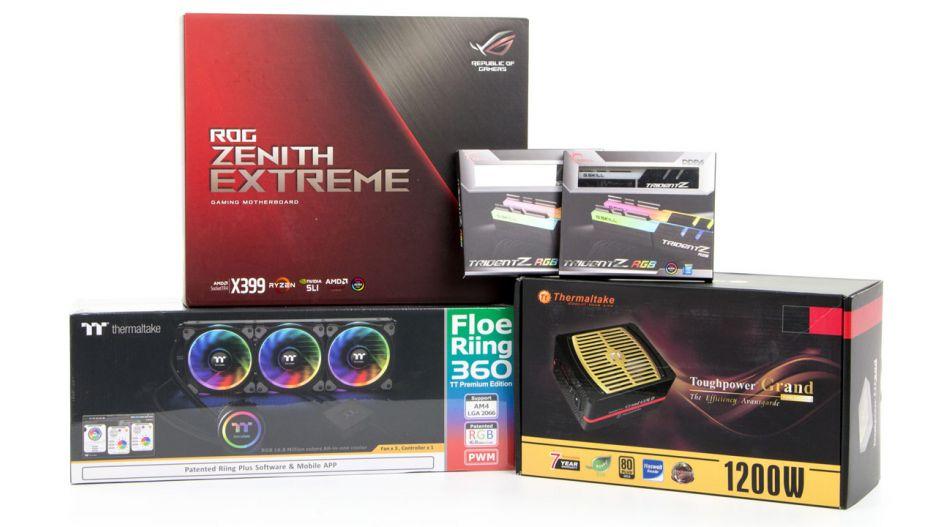 AMD Ryzen Threadripper – unboxing zestawu testowego | zdjęcie 10