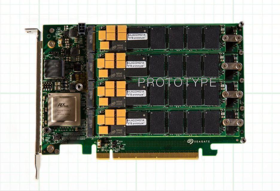 Seagate przedstawia swój topowy SSD - 64 TB pojemności i transfery do 13 GB/s