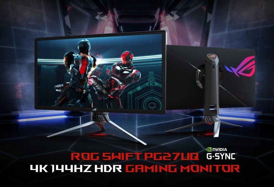 ASUS też przesuwa premierę swojego monitora G-Sync HDR