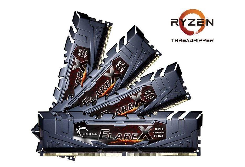 G.Skill Flare X - pamięci w zestawach dla Ryzen Threadripper