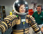 W skafandrze kosmicznym nowej generacji
