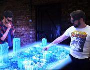 Wieloosobowy stół holograficzny