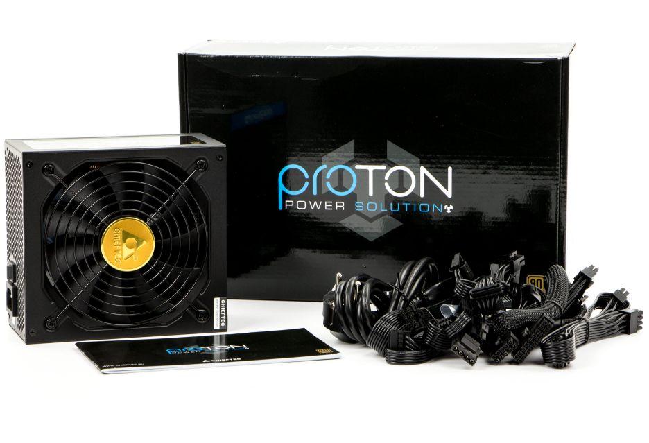 Chieftec Proton BDF-650C - dobry zasilacz w dobrej cenie  | zdjęcie 3