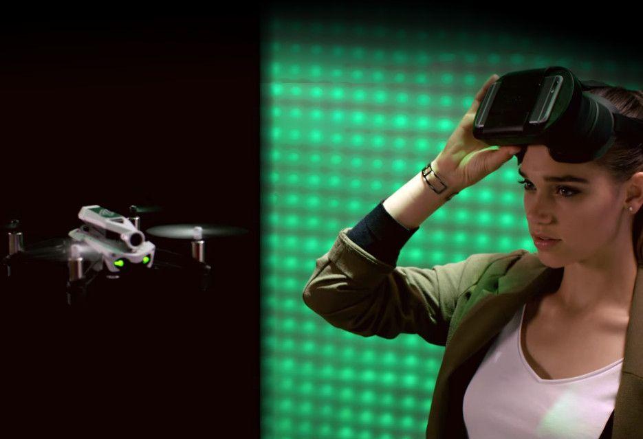 Wyścigowy dron FPV od Parrot