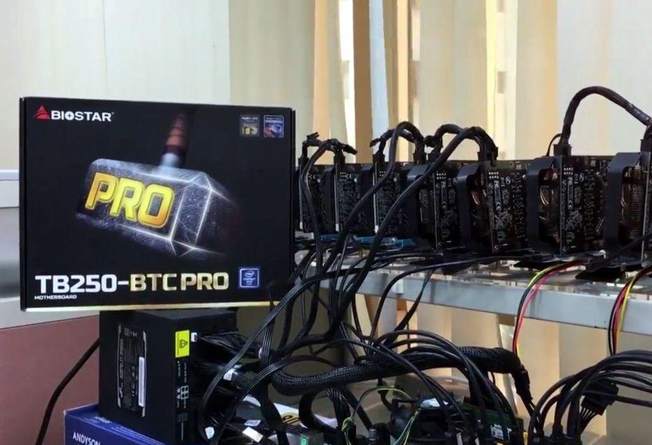 Biostar prezentuje płyty Racing B350 i kartę Vega 56 - dla graczy i... górników