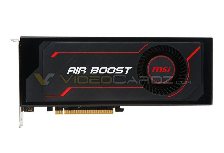 MSI RX Vega 64 Air Boost Edition - prawie jak niereferencyjna karta