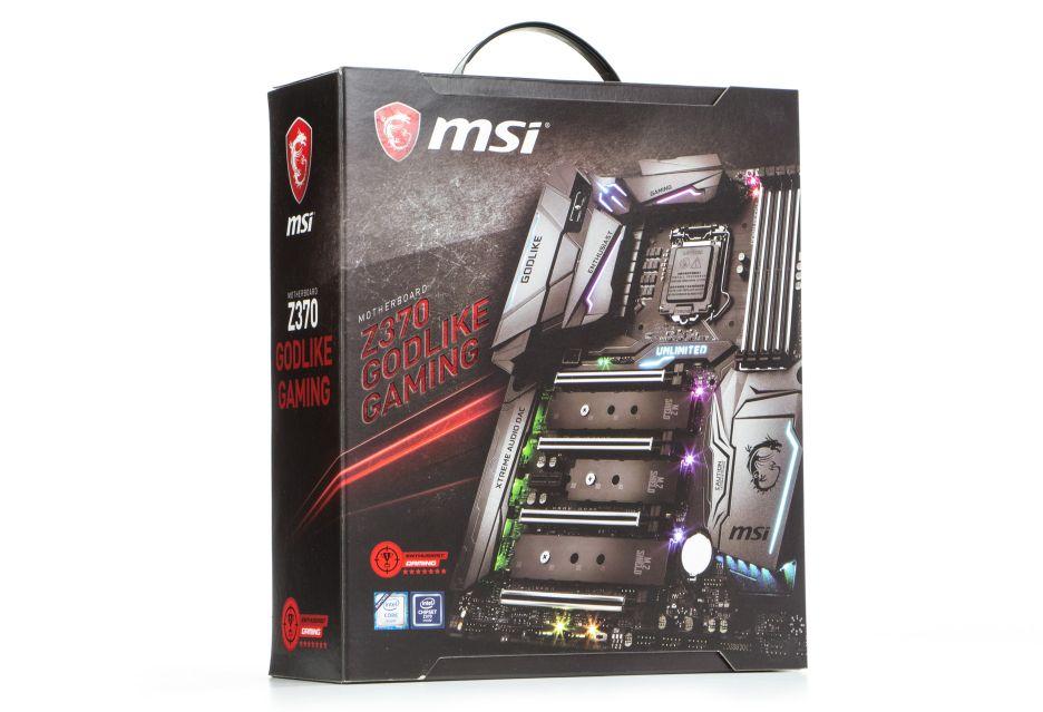 MSI Z370 Godlike Gaming - maszynka ma swoją moc! | zdjęcie 1