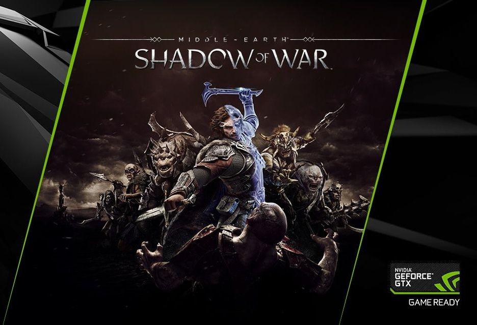Śródziemie: Cień Wojny za darmo do kart GeForce GTX 1080 i 1080 Ti (i laptopów/komputerów)