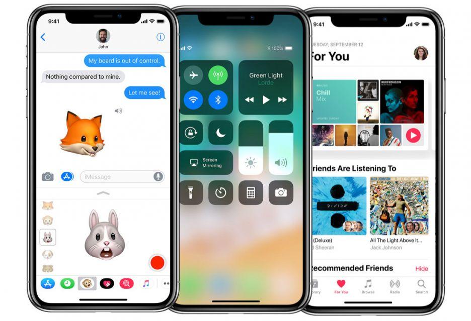 iPhone X i ekran, będący zmorą deweloperów