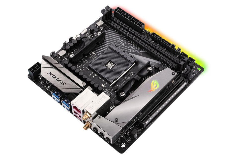 ASUS też ma miniaturkę pod Ryzena - model ROG Strix B350-I Gaming