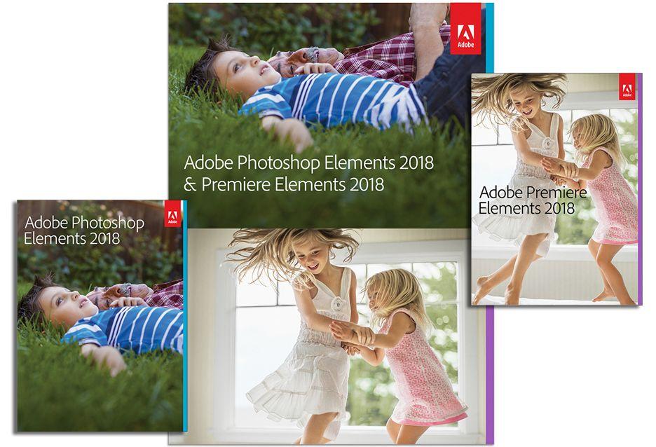 Adobe Photoshop i Premiere Elements 2018 - co nowego
