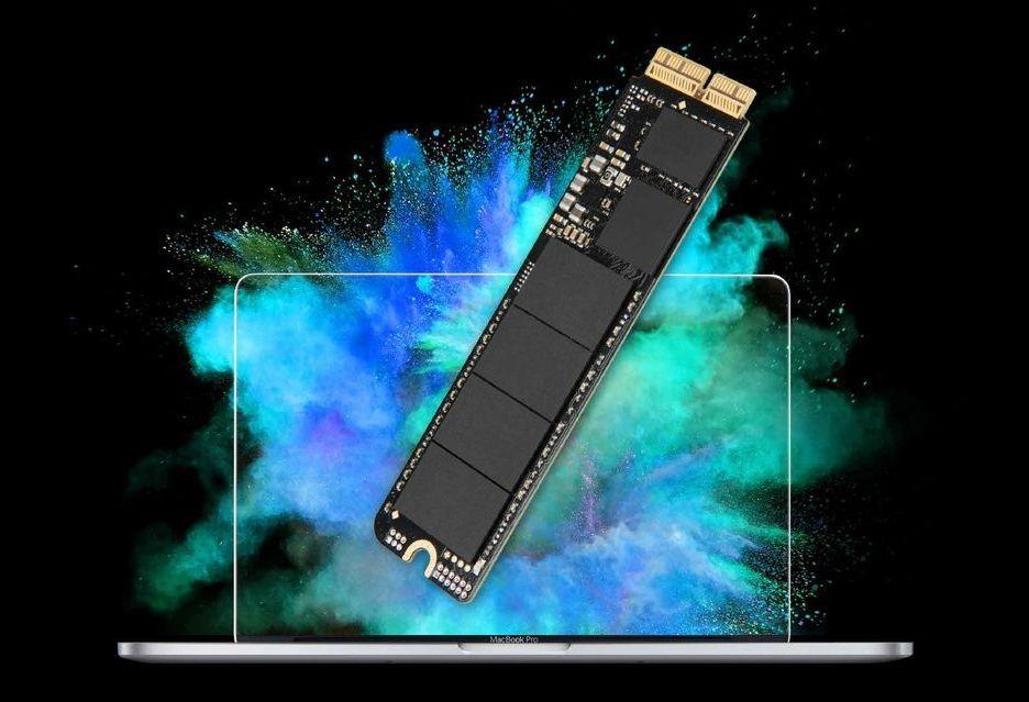 Transcend JetDrive 820 - nośnik do przyspieszenia komputerów i laptopów Mac