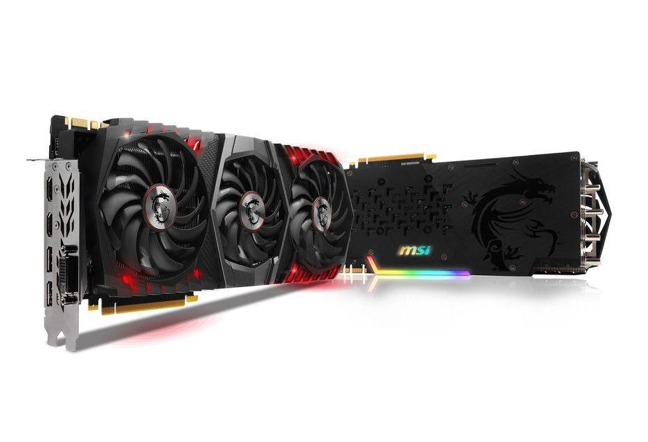 MSI GeForce GTX 1080 Ti w potężnej i zarazem efektownej wersji Gaming Trio