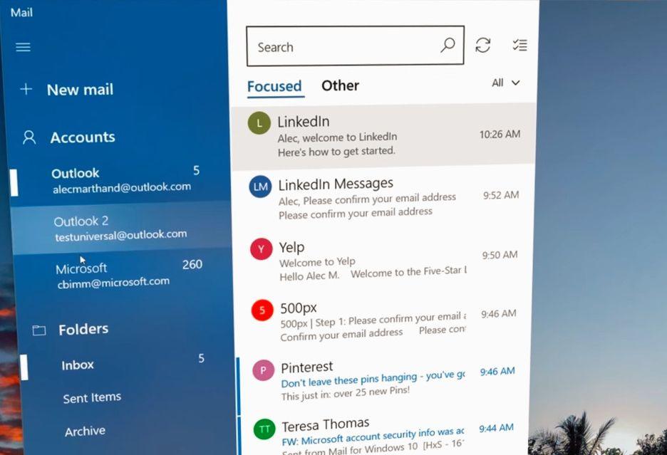 Tak wygląda Fluent Design w Windows 10