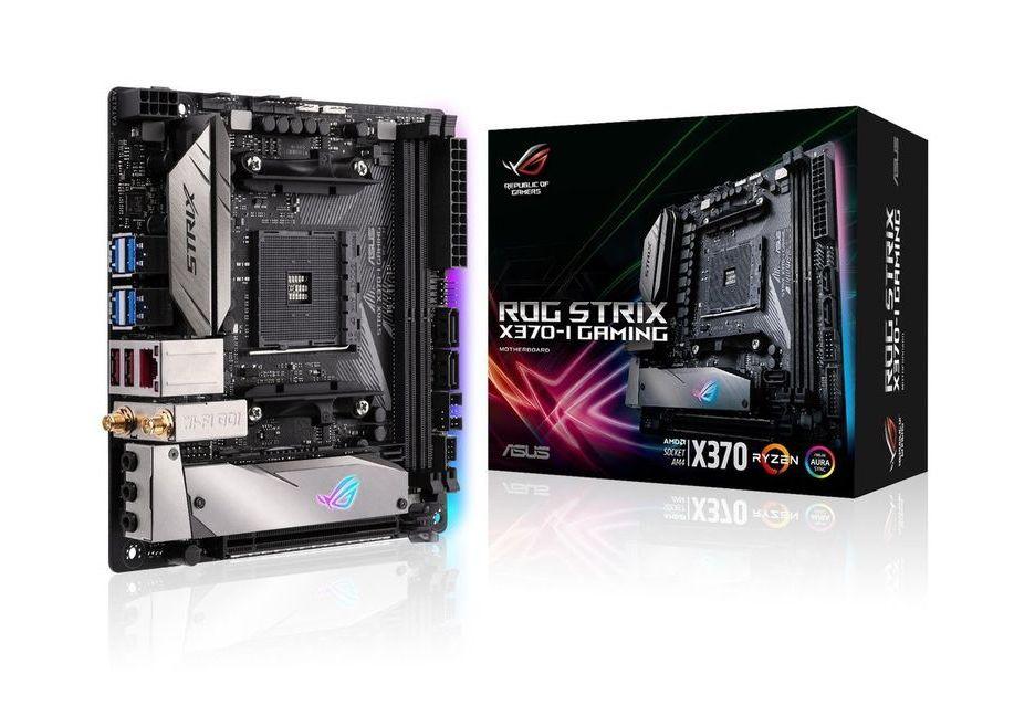 ASUS ROG Strix X370-I Gaming - miniaturka z chipsetem X370