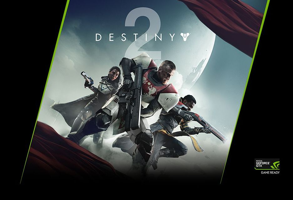Destiny 2 za darmo do kart GeForce GTX 1080 i 1080 Ti - w sam raz do grania w 4K