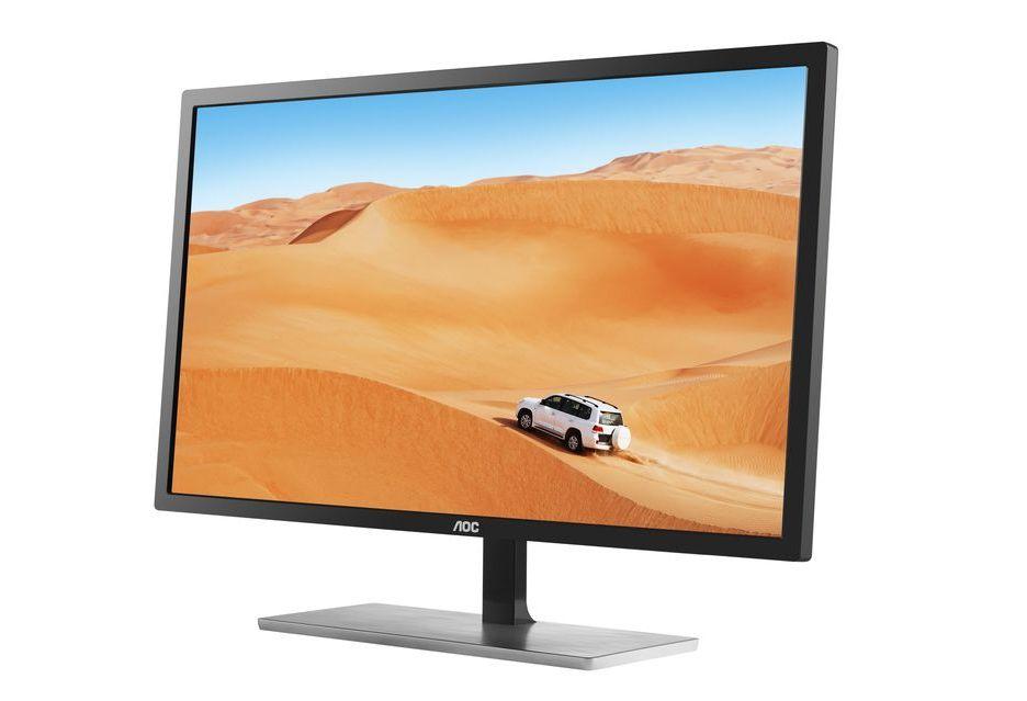 AOC Q3279VWF - monitor dla wymagających z ograniczonym budżetem
