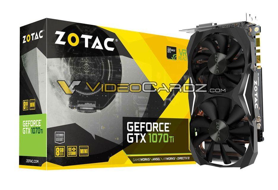 Zotac szykuje GeForce GTX 1070 Ti w kompaktowej wersji