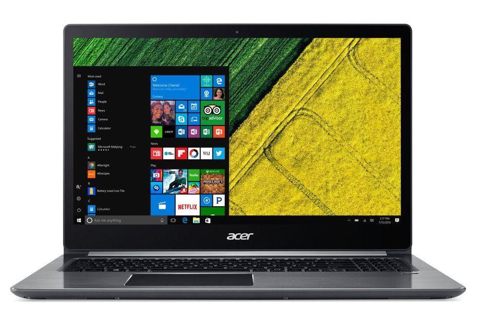 Acer Swift 3 z procesorem AMD Ryzen będzie tańszy od odpowiednika z Intelem