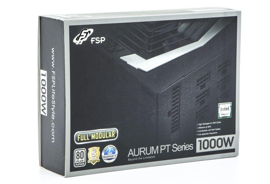 FSP Aurum PT 1000W - kilowat dla wymagających | zdjęcie 1