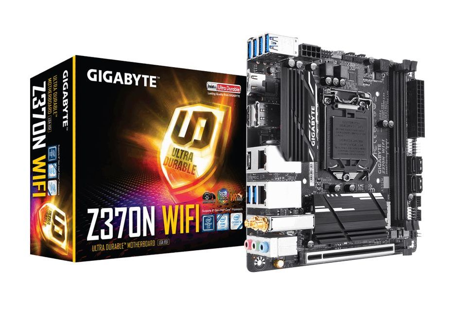 Gigabyte Z370N WIFI - miniaturka pod Intel Coffee Lake