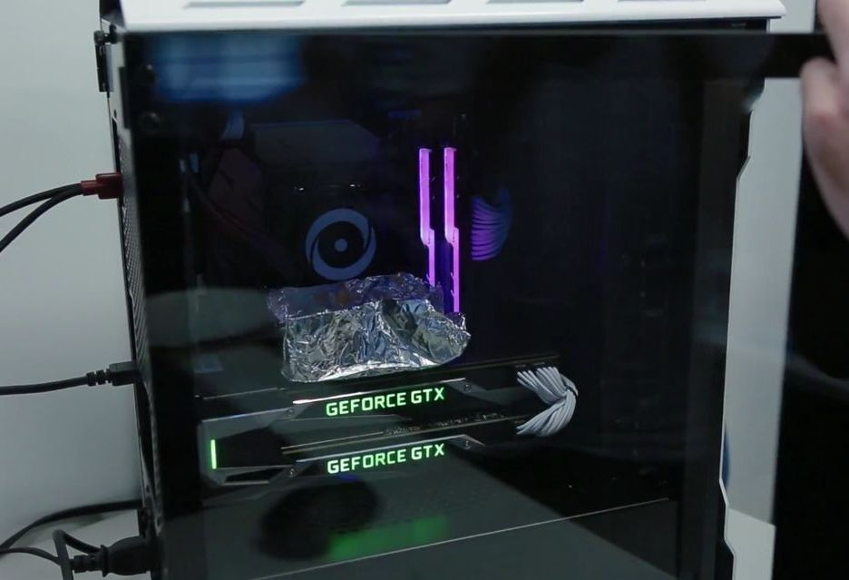 GeForce GTX 1080 Ti jako patelnia do smażenia jajek?