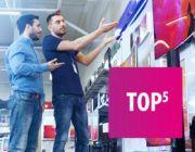 Polecane telewizory klasy średniej (120Hz) - TOP 5