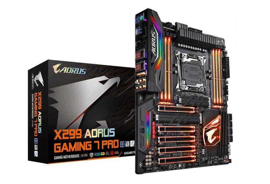 Gigabyte X299 Aorus Gaming 7 Pro - ulepszona płyta pod procesory Skylake-X