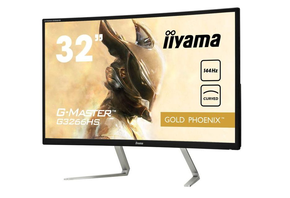 iiyama prezentuje swój pierwszy zakrzywiony monitor dla graczy - model G-Master G3266HS