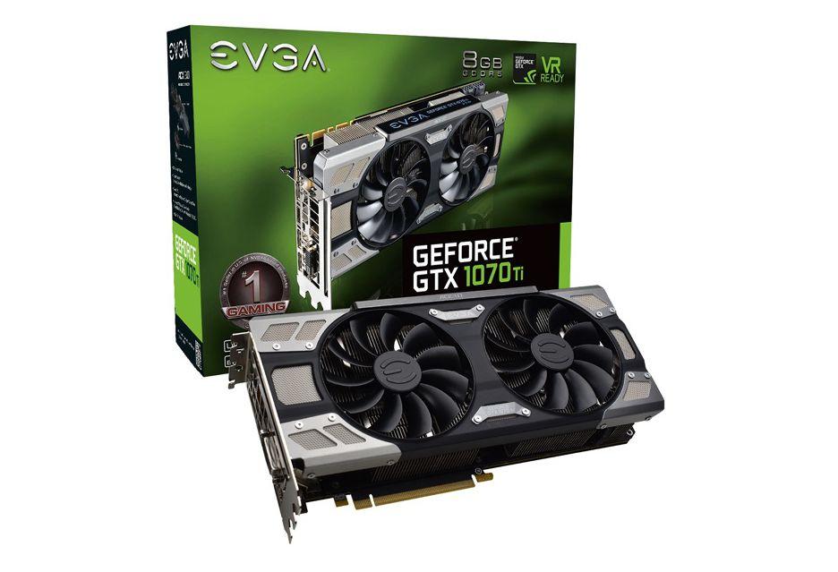 EVGA GeForce GTX 1070 Ti w spasionej wersji FTW Ultra Silent