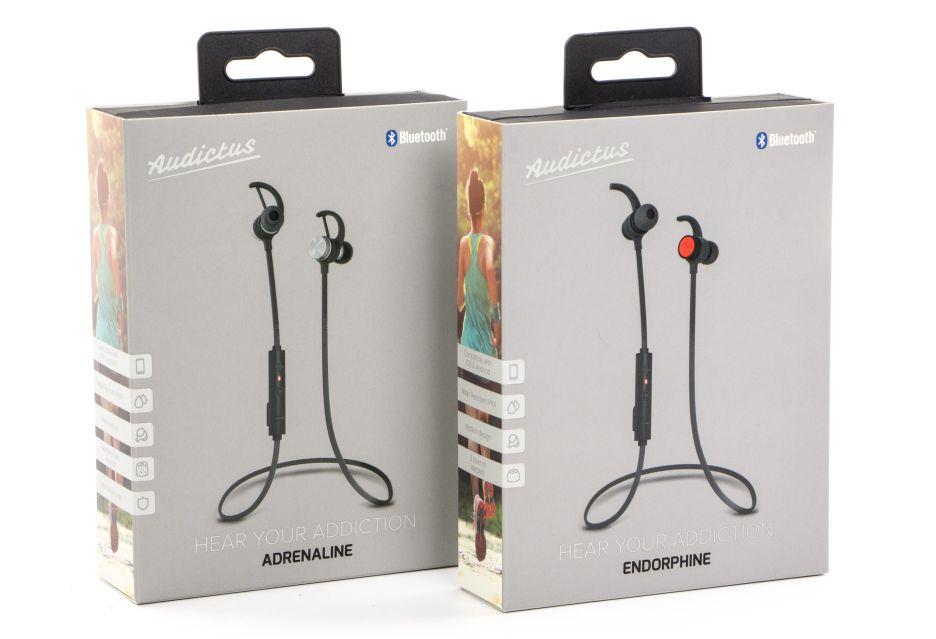Audictus Endorphine i Adrenaline - test i porównanie sportowych słuchawek Bluetooth | zdjęcie 2