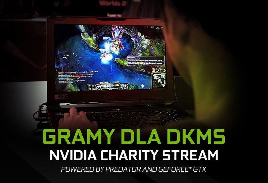 Nvidia Charity Stream - gracze zebrali 80 000 zł na wsparcie osób z nowotworami krwi
