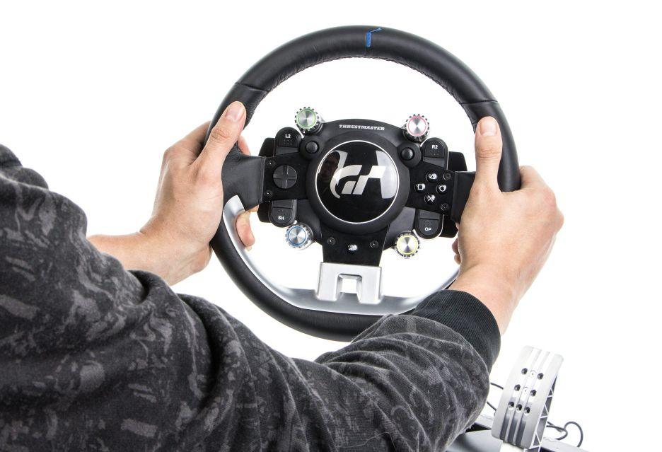 Thrustmaster T-GT – kierownica skrojona na miarę rajdowej elity | zdjęcie 1