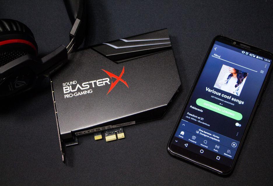 Creative Sound BlasterX AE-5 - test karty dźwiękowej dla wymagających graczy | zdjęcie 1