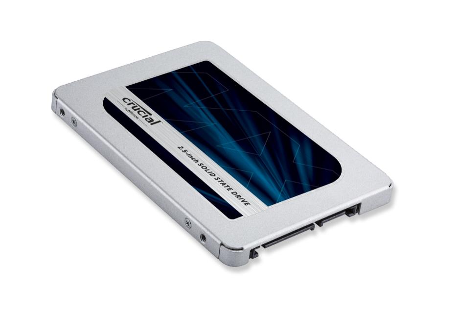 Crucial MX500 - niedrogie nośniki z pamięciami 3D TLC NAND