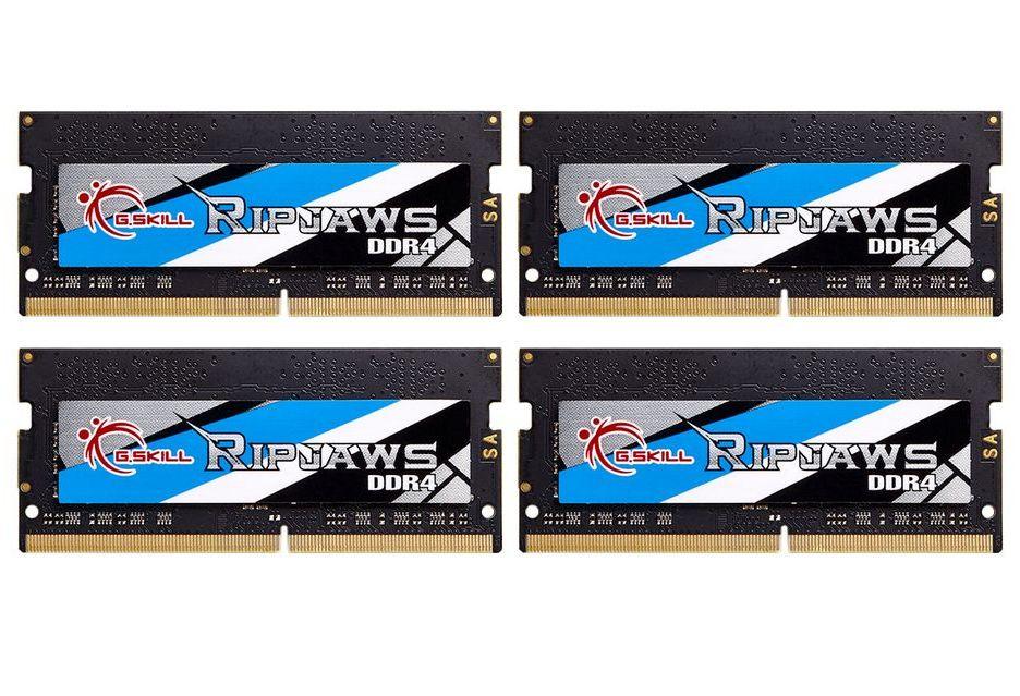 G.Skill prezentuje jeszcze szybsze pamięci DDR4 SO-DIMM