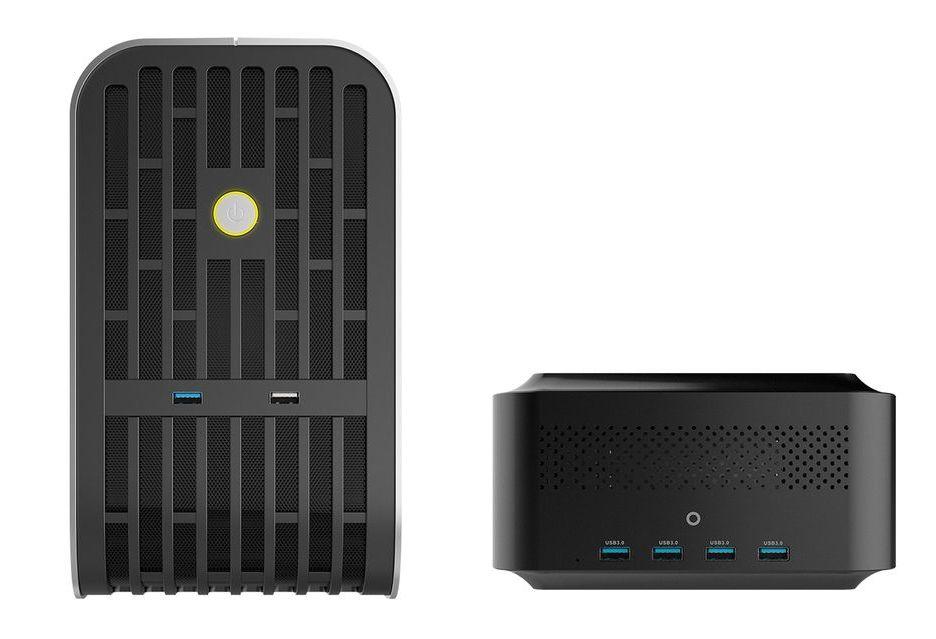 Zotac AMP BOX i AMP BOX MINI - nowe przystawki dla GPU i SSD pod Thunderbolt 3