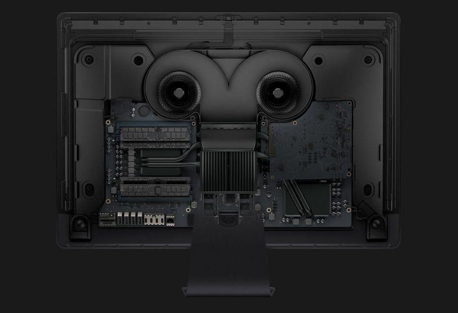 Zaglądamy do środka iMac Pro - które podzespoły można wymienić?