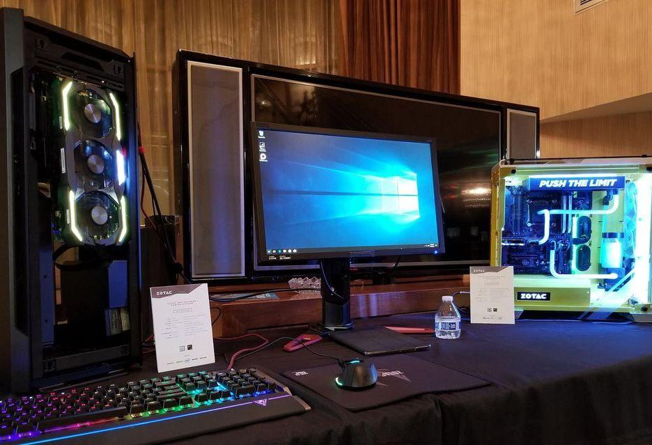 Zotac na targach CES 2018 - nowe Mini PC i akcesoria dla graczy