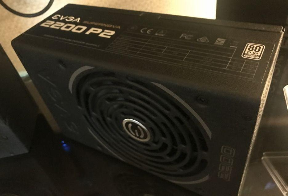 EVGA prezentuje swój najmocniejszy zasilacz - 2200 W mocy i sprawność 80 PLUS Platinum