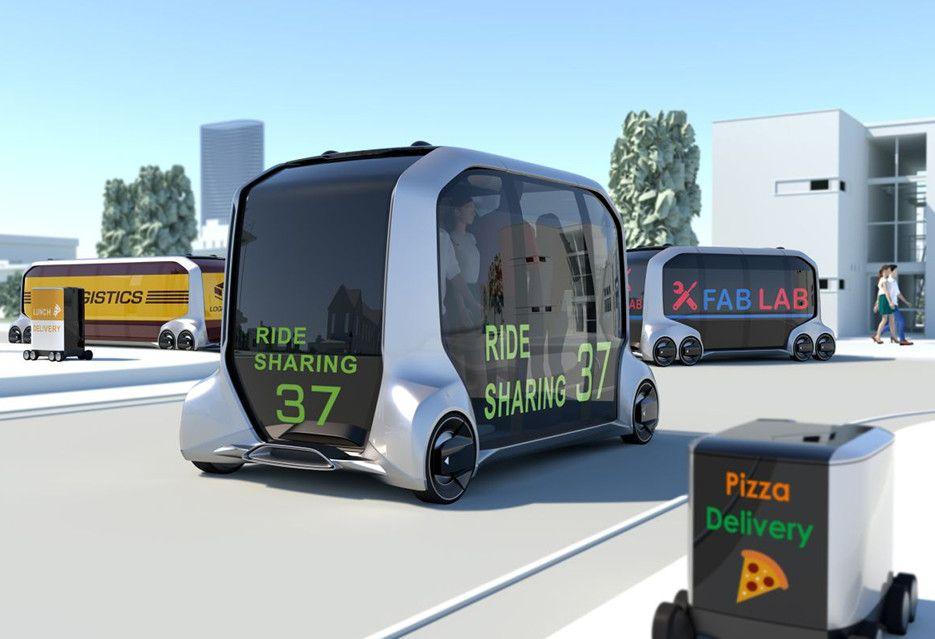 Toyota e-Palette Concept - jeden pojazd, dziesiątki zastosowań