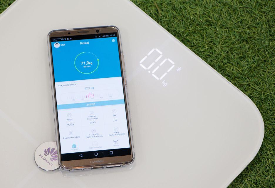 Huawei Smart Scale - test wagi z łącznością Bluetooth | zdjęcie 1