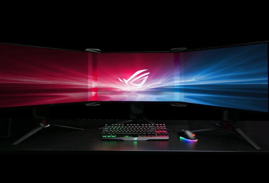 ASUS Bezel-Free Kit - granie na kilku monitorach będzie jeszcze przyjemniejsze