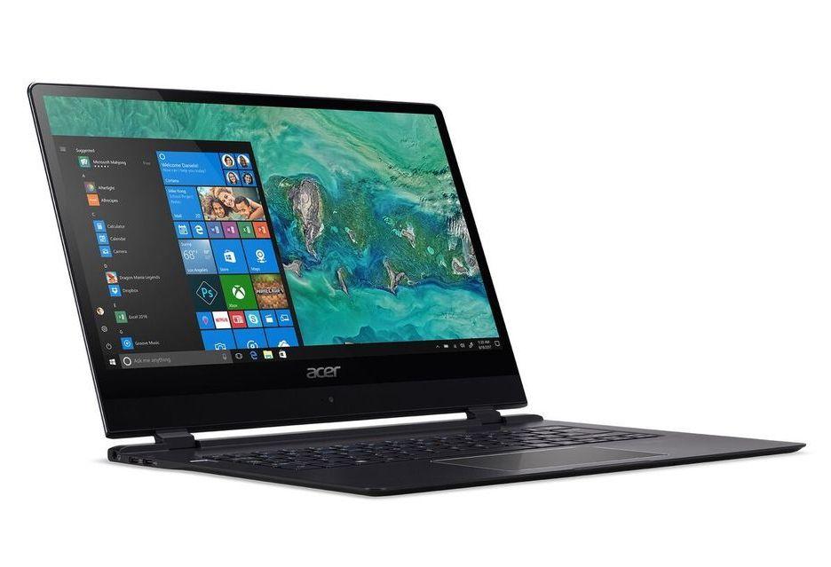 Acer przedstawia najcieńszego laptopa na świecie - zaledwie 8,98 mm