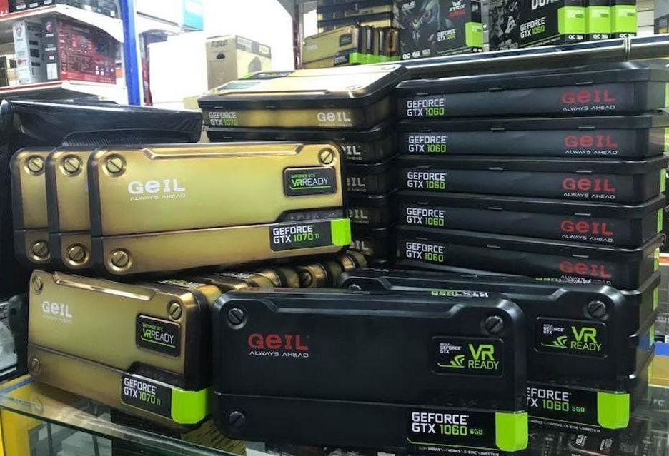 GeIL wchodzi na rynek kart graficznych - modele GeForce GTX 1060 i 1070 Ti