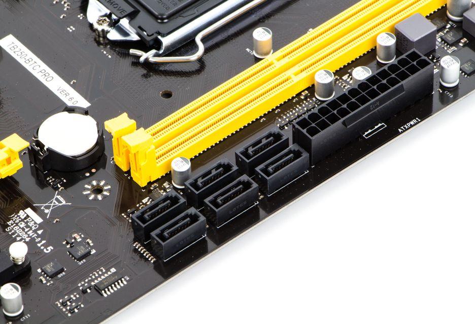 Biostar TB250-BTC PRO - podstawa koparki kryptowalut | zdjęcie 5