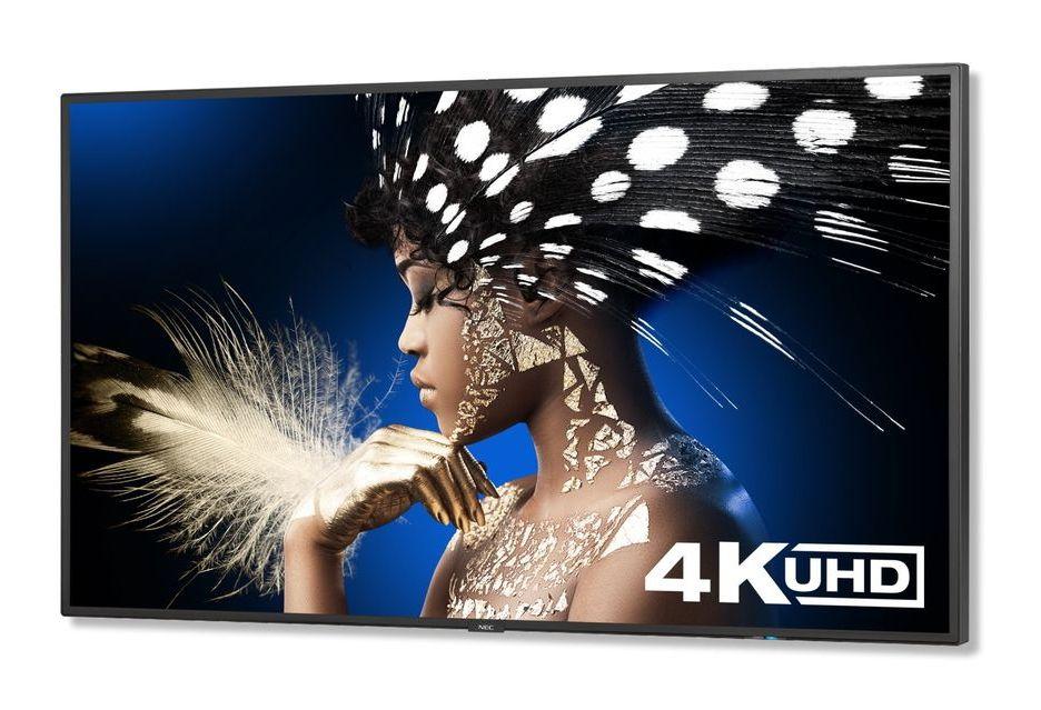 NEC na targach ISE 2018 - nowe wieloformatowe monitory 4K